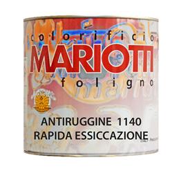 Antiruggine 1140 Rapida Essiccazione Colorificio Mariotti Foligno