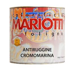 Antiruggine Cromomarina Colorificio Mariotti Foligno