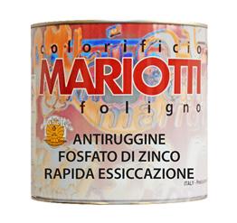 Antiruggine Fosfato di Zinco Rapida Essiccazione Colorificio Mariotti Foligno