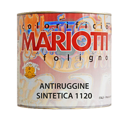 Antiruggine Sintetica 1120 Colorificio Mariotti Foligno