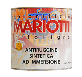 Antiruggine Sintetica ad Immersione Colorificio Mariotti Foligno