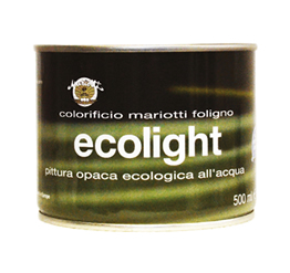 Ecolight Pittura Ecologica all'Acqua Colorificio Mariotti Foligno