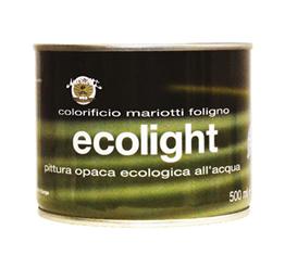 Ecolight Pittura Ecologica all'Acqua Colorificio Mariotti Foligno