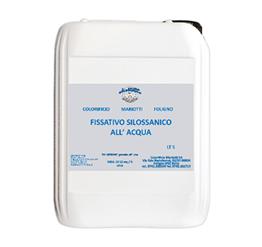 Fissativo per Silossani all-Acqua Ecologico Colorificio Mariotti Foligno