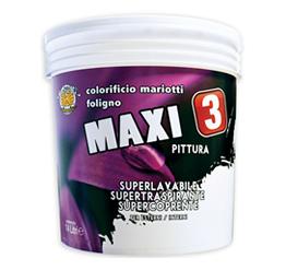 Maxi 3 Pittura Lavabile Superiore Interno Esterno Colorificio Mariotti Foligno