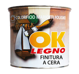 Ok Legno Finitura Semilucida a Cera Colorificio Mariotti Foligno