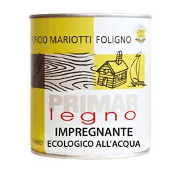 Primar Legno Impregnante Ecologico all-Acqua Colorificio Mariotti Foligno