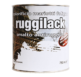 Ruggilack Smalto Antiruggine Colorificio Mariotti Foligno