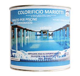 Smalto per Piscine Colorificio Mariotti Foligno