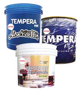 Tempera Extra Idroluce Extra Colorificio Mariotti Foligno -