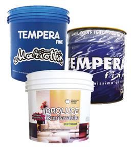 Tempera Fine Idroluce Colorificio Mariotti Foligno