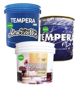 Tempera Super Idroluce Super Colorificio Mariotti Foligno -