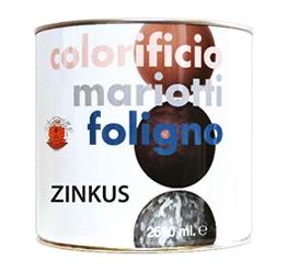 Zinkus Finitura Aggrappante per Lamiere Zincate Colorificio Mariotti Foligno