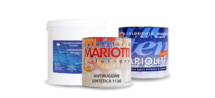 Fondi e Antiruggini Colorificio Mariotti Foligno Catalogo Prodotti