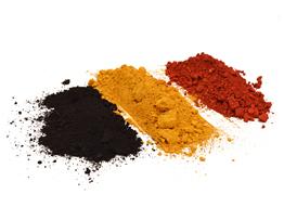Ossido di Ferro Sintetico in Polvere Colorificio Mariotti Foligno