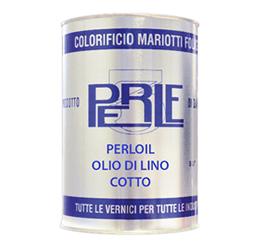 Perloil Olio di Lino Cotto Colorificio Mariotti Foligno