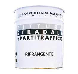 Vernice Spartitraffico Rifrangente Colorificio Mariotti Foligno